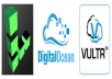 Setup or Manage your Unmanaged VPS Server (DigitalOcen, Linode, Vultr)
