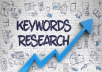 Highly Researched Profitable Keywords For Your Busine... for $40