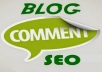 I will promote your website with 50 NICHE Relevant HQ Blog Comment