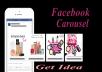 create Facebook Carousel Ads , Banner , Ads, Advertising design