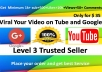 Provide you Rank Your Video on YouTube and Google top with amazing work