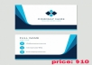 Design a Amazing  Business Card for you with a beautiful logo