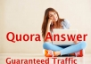 Offer, 31 High Quality Quora answer