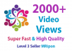 Instant 2000 High Quality Photo Likes or Video Views