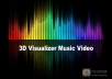 create a 3D visualizer music video for $20