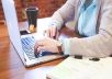 Do any kind of data entry work for 1 hour  for $10