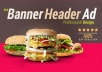 Design A Professional Web Banner,Header,Ads,Cover