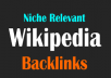Best & Cheap Wikipedia Niche Relevant Backlink to rank HIGH on google