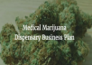 Medical Marijuana Dispensary Business Plan