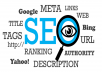 do full SEO for higher ranking your any site in google
