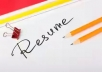 Design resumes and cover letters