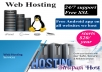 Web Hosting Unlimited SSD Cpanel Cloudflare Server $6... for $6
