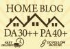 make guest post on da 30 quality home blog