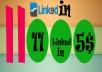 11000 Linkedin Share Only $5