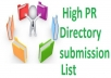 submit your website link to top 50 high PR local usa ... for $5
