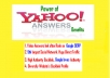 submit your website link from level 3 yahoo answer.