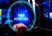 1 Year web hosting  for $25