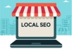 Do local Search Engine Optimization (seo) for higher ranking