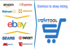 Dsmtool to ebay listing very expert. I'll provide 100 successfully listed product only for $15
