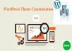 Instant give you revamp or re-design your existing wp,weebly, squarespace,wix website