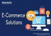 E-Commerce Solutions and Services for $15