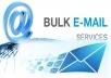 Sending Bulk Emails (10,000 emails)  for $10