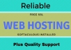 RELIABLE FAST WEB HOSTING FOR 1 YEAR for $5