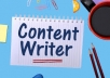 i will be your SEO website content writer for $25