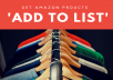 Get 50 amazon visitors to Wishlist your product