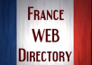 Do 65 France High PR Web Directory Submissions for $10