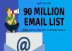 Get 90 million Email list for Marketing -Within 1 Day