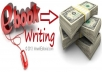 I provide you a best Ebook writing 1000 words only in $5