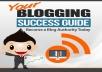 Your Blogging Success Guide ebook