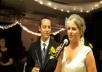 I write a magic wedding toast for the bride