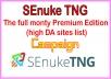 Get The full monty Premium Edition -high DA sites list- Campaign