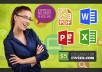 professionally convert pdf to word or word to pdf