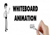 white board animation for $50