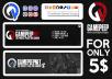 TeamSpeak Server Design (Banner - Logo - Icons)