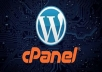 1 Year cPanel 50GB - FREE SSL - FREE WEBSITE BUILDER for $8