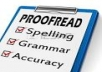 General English Proof Reader