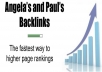 100 paul and angela backlinks package