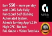 We Create Google Admob, Adsense Android Earning App (... for $20