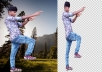Photoshop should delete 25 image backgrounds within 2... for $6