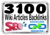 Create Unlimited contextual Wiki from 3,100 Wiki Arti... for $1