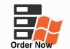Cheap Dedicated Windows RDP Server for 60 days for $8