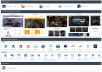 Web Hosting - 1 year - cPanel, Unlimited Domains, Tr... for $3