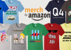 We Make 2 High Quality T-Shirt Designs For amazon By ... for $6