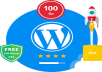 WordPress Cloud Hosting ( SSD ) + FREE SSL for $2