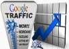 Organic traffic from Google.com with your Keywords