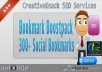 Social Bookmark Boostpack 300+ Social Bookmarks only